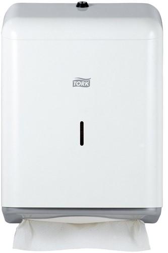 Tork Singlefold/C-fold handdoek Dispenser, Metaal, Wit