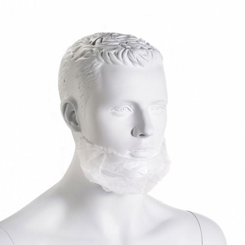 Gejoma Non Woven Baardmaskers 45 X20cm - Wit, 20 x100 st