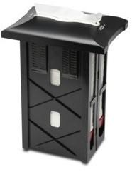 Tork Xpressnap N4 In-counter Servet Dispenser, Zwart, 30 cm