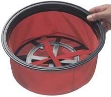Numatic Primair filtrex rood filter (18'' modellen)