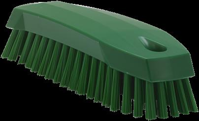 Vikan Schrobborstel, M, 165mm, Medium, Groen