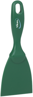 Vikan Rechte Handschraper, Smal, 75 mm Groen