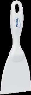Vikan Rechte Handschraper, Smal, 75 mm Wit
