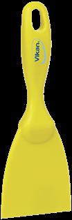 Vikan Rechte Handschraper, Smal, 75 mm Geel