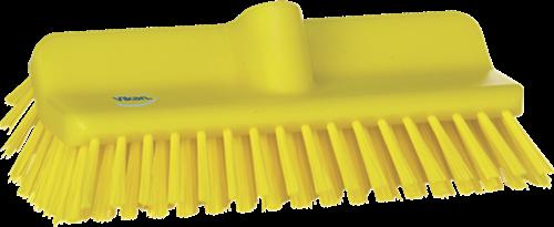 Vikan Hoekschrobber, Medium, 265mm, Geel