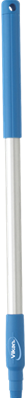 Vikan Ergonomische Aluminium Steel, 645 mm, Blauw