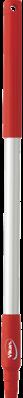 Vikan Ergonomische Aluminium Steel, 645 mm, Rood