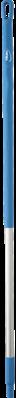 Vikan Ergonomische Aluminium Steel, 1300 mm, Blauw
