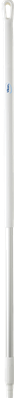 Vikan Ergonomische Aluminium Steel, 1300 mm, Wit