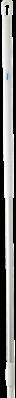 Vikan Ergonomische Aluminium Steel, 1500 mm, Wit