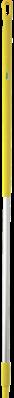 Vikan Ergonomische Aluminium Steel, 1500 mm, Geel