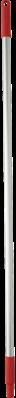 Vikan Aluminium Steel, 1300mm, Rood
