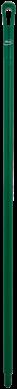 Vikan Ergo. Ultra Hygiëne steel 1300xØ34 mm, Groen
