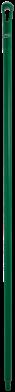 Vikan Ergo. Ultra Hygiëne steel 1700xØ34 mm, Groen