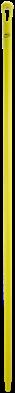 Vikan Ergo. Ultra Hygiëne steel 1700xØ34 mm, Geel