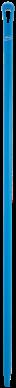 Vikan Ergo. Ultra Hygiëne steel 1500xØ34 mm, Blauw