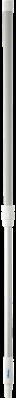 Vikan Ergonomische Telescoopsteel, 1250-1810 mm, Wit
