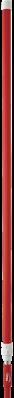 Vikan Ergonomische Telescoopsteel 1575–2780xØ32 mm, Rood