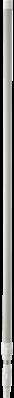 Vikan Ergonomische Telescoopsteel 1575–2780xØ32 mm, Wit