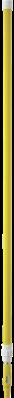 Vikan Ergonomische Telescoopsteel 1575–2780xØ32 mm, Geel