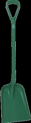 Vikan Ergonomische Schop, D-greep, 1040 mm, Standaard blad, Groen