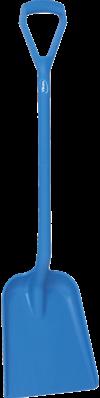 Vikan Ergonomische Schop, D-greep, 1040 mm, Standaard blad, Blauw