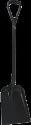 Vikan Ergonomische Schop, D-greep, 1040 mm, Standaard blad, Zwart