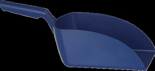 Vikan Rechte Handschep, 2 L, 160x370x130 mm, Metaaldetect. Donkerblauw