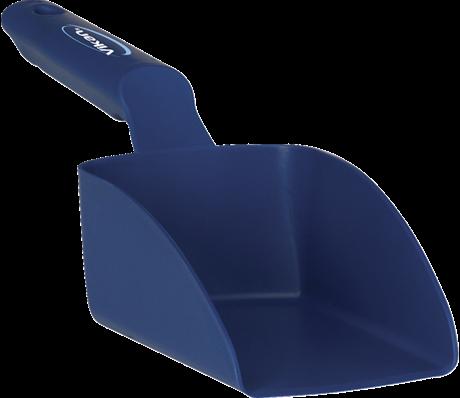 Vikan Rechte Handschep, 0,5 L, 95x300x80 mm, Metaaldetect. Donkerblauw
