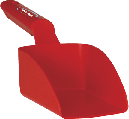 Vikan Rechte Handschep, 0,5 L, 95x300x80 mm, Rood