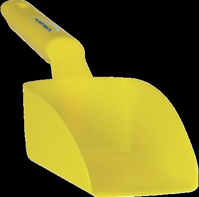 Vikan Rechte Handschep, 0,5 L, 95x300x80 mm, Geel