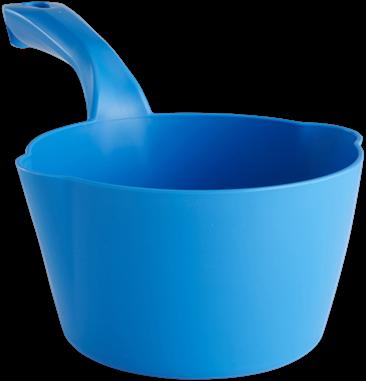 Vikan Ronde schepbak, 1 L, Blauw