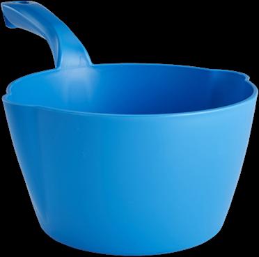 Vikan Ronde schepbak, 2 L, Blauw
