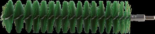 Vikan Pijpborstel voor Flexibele kabel, Ø40x200mm, Groen