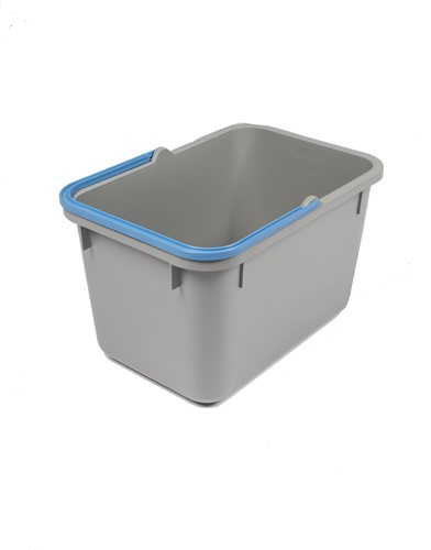 Numatic Grijze emmer 17 liter met blauwe hendel