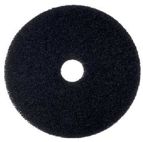 """Scotch-Brite Vloerpad Nylon Zwart 14"""", 355 mm 5st"""