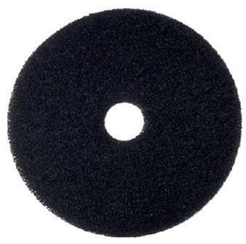 """Scotch-Brite Vloerpad Nylon Zwart 18"""", 460 mm 5st"""