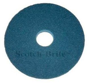 """Scotch-Brite Vloerpad Polyester Blauw, """"16"""""""" / 406 mm 5st"""""""