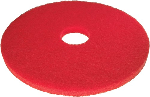 Scotch-Brite Vloerpad Polyester Rood 16, / 406 mm 5st