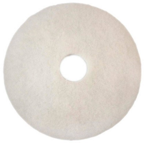 "Scotch-Brite Vloerpad Polyester Wit 12"", / 305 mm 5st"