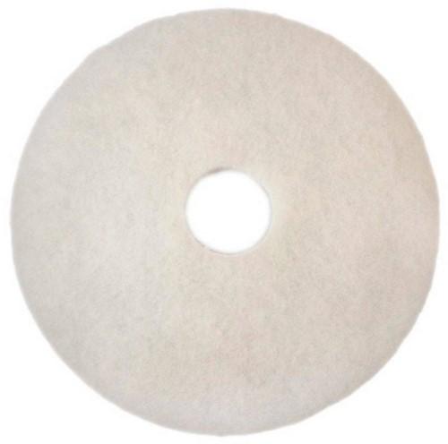 "Scotch-Brite Vloerpad Polyester Wit 17"", / 432 mm 5st"