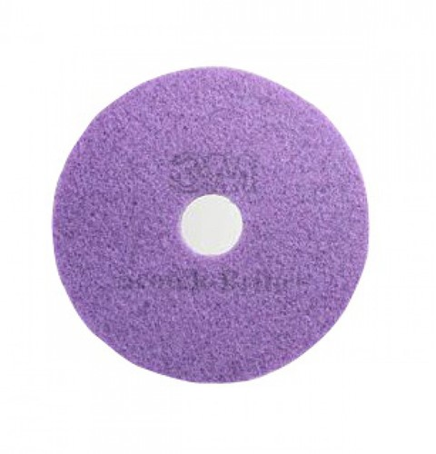 "Scotch-Brite Vloerpad Polyester Paars, ""10"""" / 254 mm 5st"""