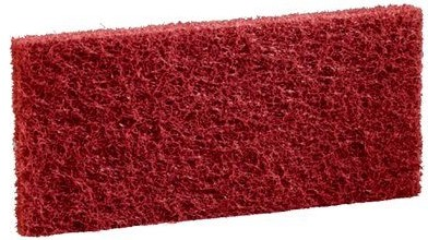 Scotch-Brite Doodlebugpad Polyester Rood, 11,7 x 25,4 cm 5st