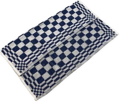 Gejoma Keukendoek Blauw geblokt 55X55 cm