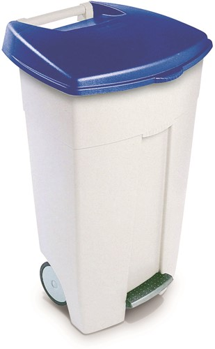 Rubbermaid Eco Step-On Container, 106 L, Blauw