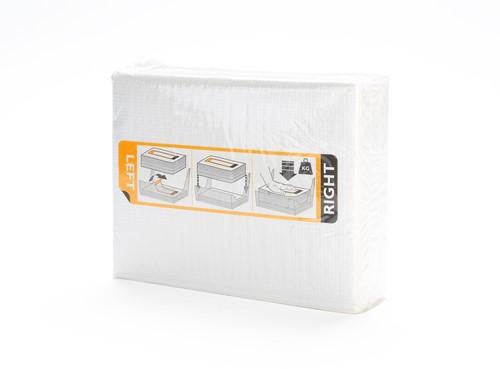 Vendor Handdoekcassette 2lgs wit, 10x33m