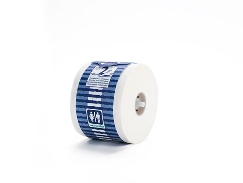 Vendor Toiletpapier 2lgs wit, 100% pulp 48x100m