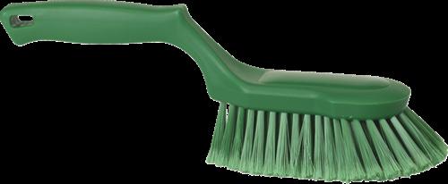 Vikan Ergonomische Handborstel, Zacht, 330mm, Groen