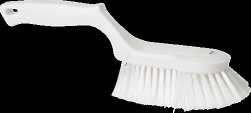 Vikan Ergonomische Handborstel, Zacht, 330mm, Wit