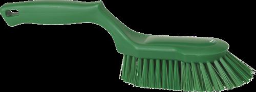 Vikan Ergonomische Handborstel, Hard, 330mm, Groen